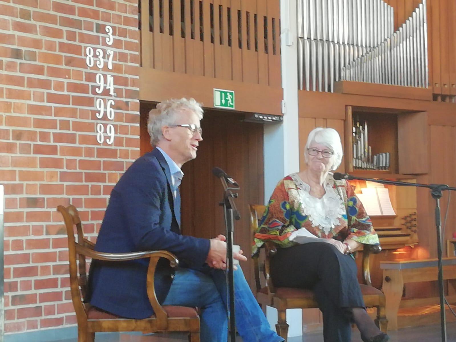 Samuale Lindholm och Rachel Sidestam berättade den 16 september om sina erfarenheter i Kongo, respektive Rwanda, i början av 1990-talet och om allt de fick med sig hem för mission på hemmaplan.